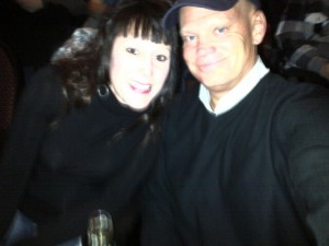 Mom and Dad taking a break and going to the Styx concernt - they rocked it!