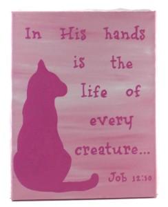 cat memorial art, the rescue mama, cat art