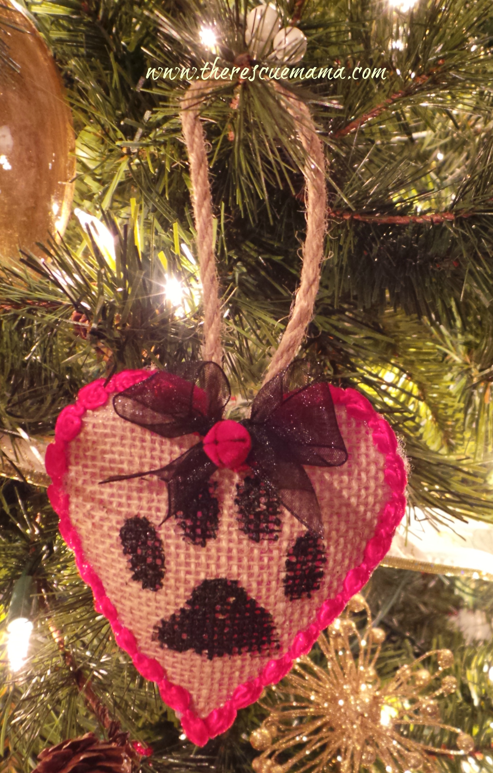 Christmas Ornaments Made Fabric