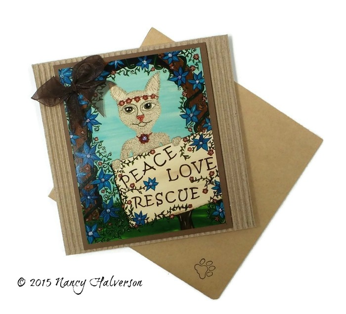Cat Rescue Card