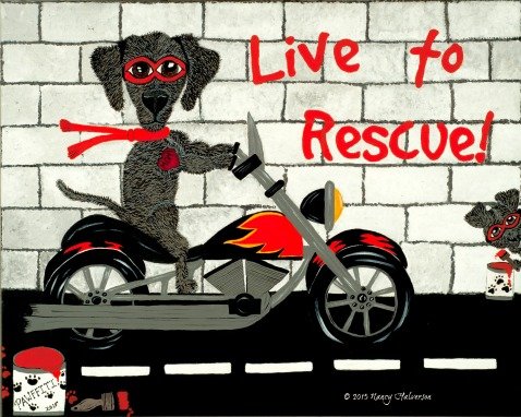 Dog Rescue Art