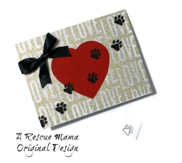dog sympathy card, cat sympathy card, dog condolence card, cat condolence card