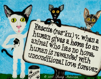 Cat Rescue Art
